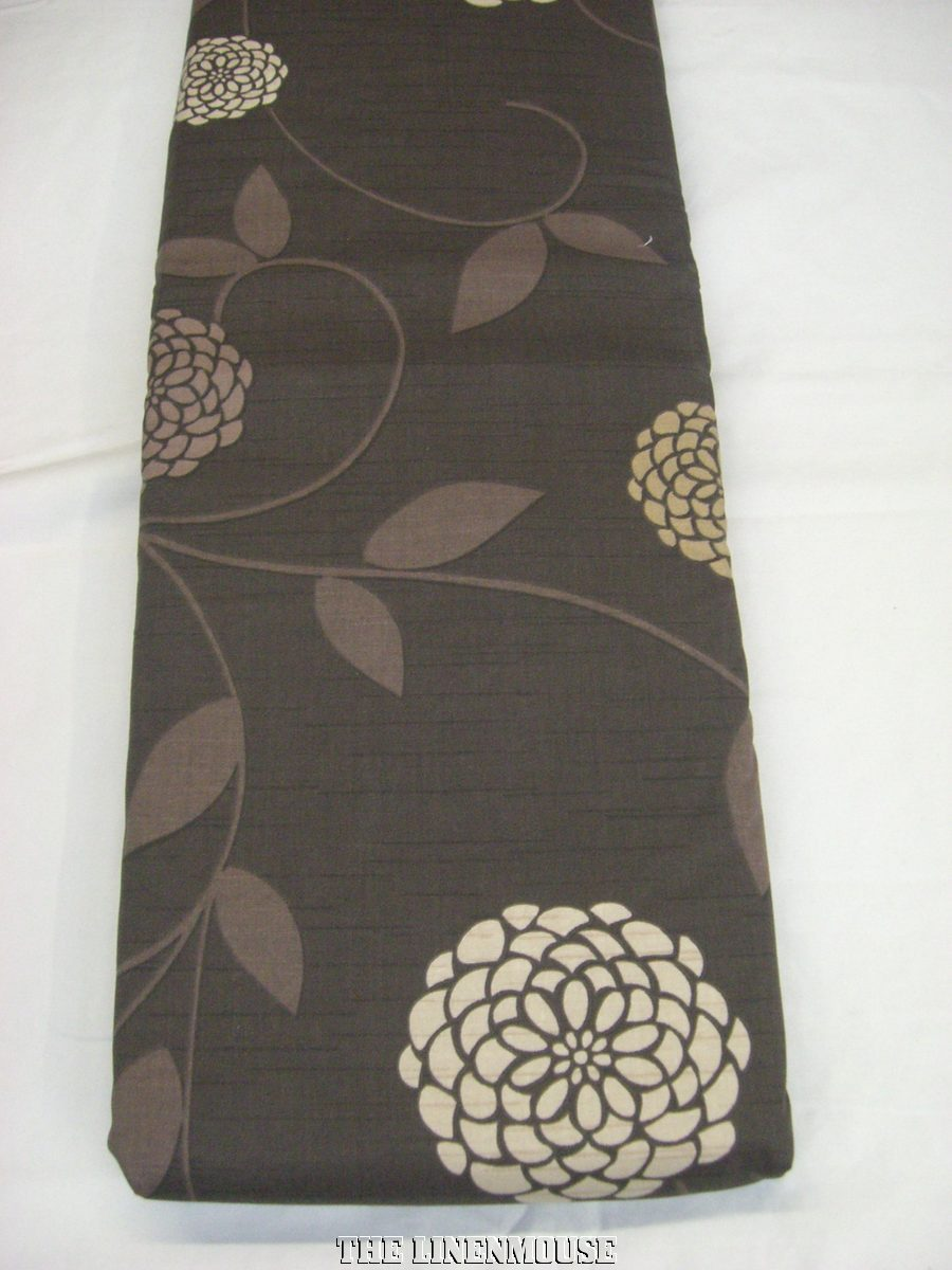 CURTAINS-TAPETOP-HEADING-CHOCOLATE-BROWN-NICE-QUALITY-COTTON-NEXT-DAY-DELIVERY