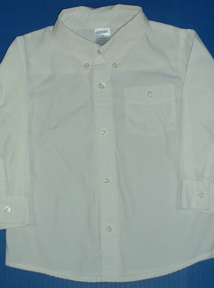 Boys White Dress Shirts First Impressions 18m Gymboree 2t
